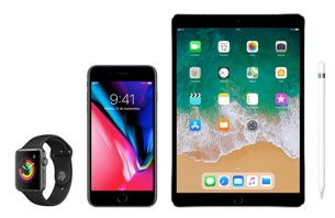 iPhone 8 Plus + iPad Pro + Apple Pencil + Watch Series